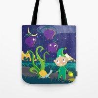 lantern Tote Bags featuring Lantern  by Lyuda Lavrentyeva | KarrrArt