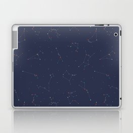 Zodiac Constellations Pattern Laptop & iPad Skin