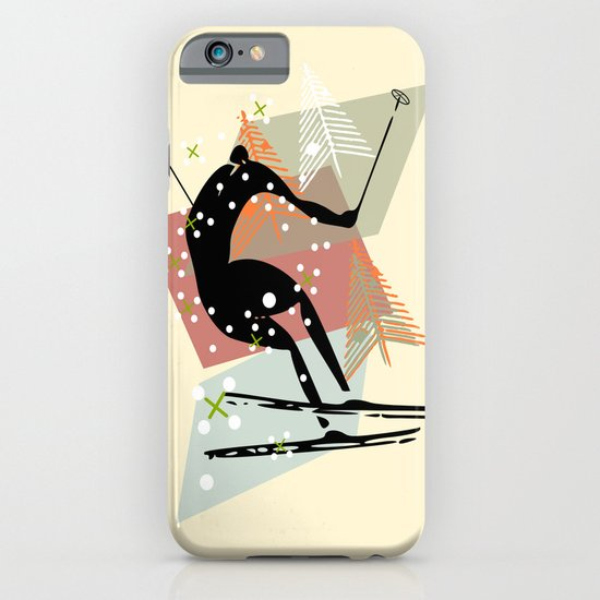 Skier iPhone & iPod Case
