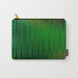 Retro Grid Oasis Carry-All Pouch
