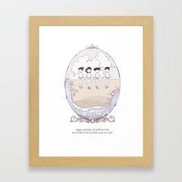 ee cummings - Came Framed Art Print