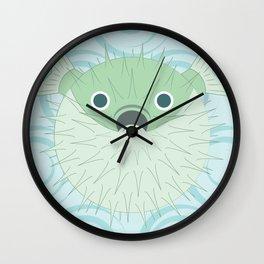 Shock Cousteau Blowfish Wall Clock