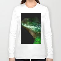 scales Long Sleeve T-shirts featuring Digital Scales by DeScepter