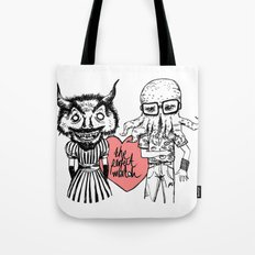 the perfect match Tote Bag