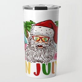 Christmas In July I Put In Bay for a Party Dad design Travel Mug