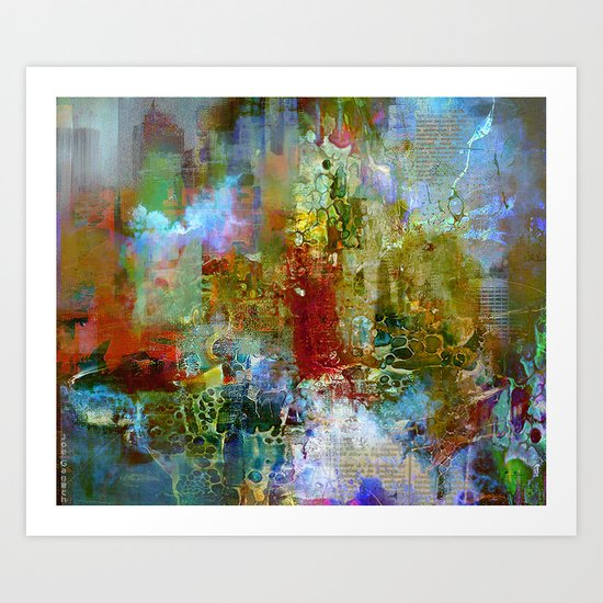 A contemporary place Art Print