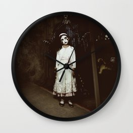 Ghost Girl Wall Clock
