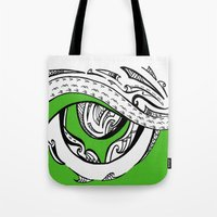mad max Tote Bags featuring Mad Max by Inailau Hut