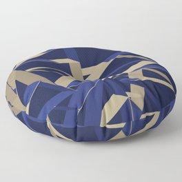 3D Futuristic GEO IX Floor Pillow