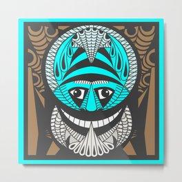 Tribal mask Metal Print