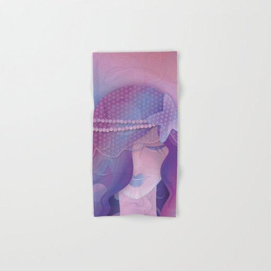 Mermaid IV - Pink Violet Princess Hand & Bath Towel