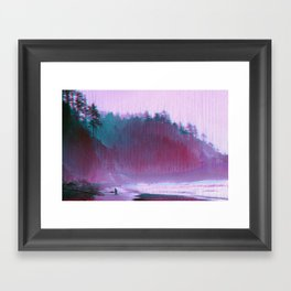 mønøglitchic_20 Framed Art Print
