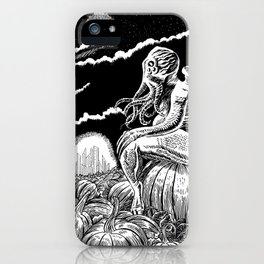 It's the Great Cthulhu! iPhone Case