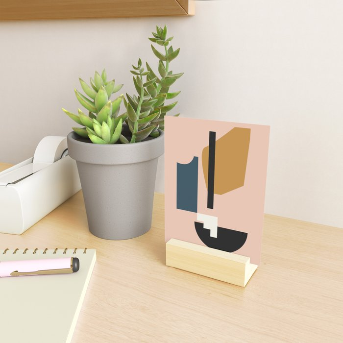 Shape study #2 - Lola Collection Mini Art Print