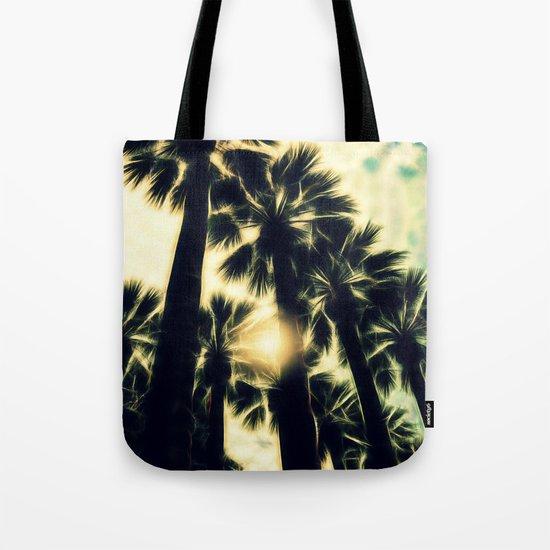 Palm Trees II Tote Bag