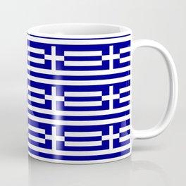 flag of greece 2-Greece,flag of greece,greek,Athens,Thessaloniki,Patras,philosophy,theater,tragedy Coffee Mug
