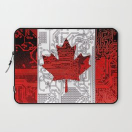 circuit board Canada (Flag) Laptop Sleeve