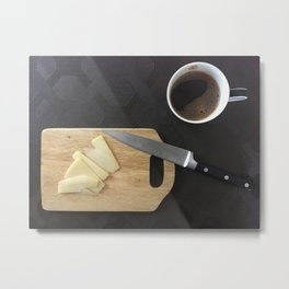 Morning. Breakfast. Metal Print