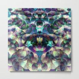 Aquarian Patchwork Metal Print