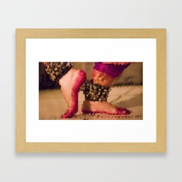 Abstract Dancer Framed Art Print