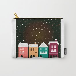 Christmas snowing town / Product designs edition 2016 Carry-All Pouch