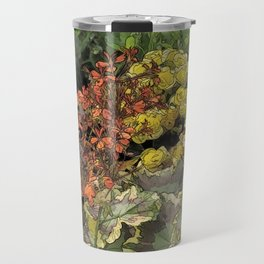 Mixed Flowers Travel Mug