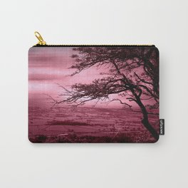 Rosy Evening Carry-All Pouch