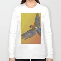 wildlife Long Sleeve T-shirts featuring wildlife 1 by AstridJN