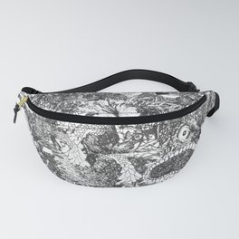 Monster Forest Fanny Pack
