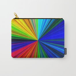 Colours of a Rainbow Carry-All Pouch