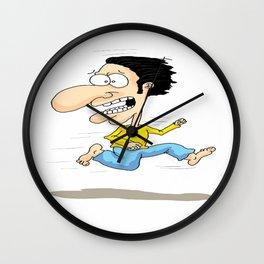 karikatür Wall Clock