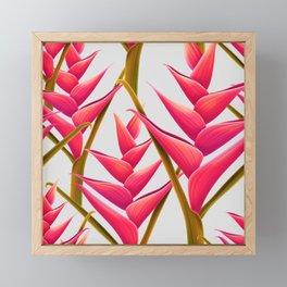 flowers fantasia Framed Mini Art Print