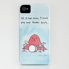 If I had arms, I would play mad freakin' beats iPhone (4, 4s) Slim Case