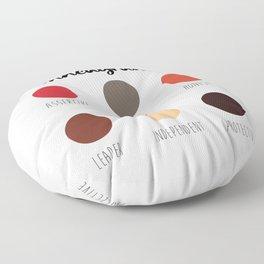 Enneagram 8 Floor Pillow