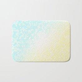 Baby Blue Stained Glass Sunny Skies Bath Mat
