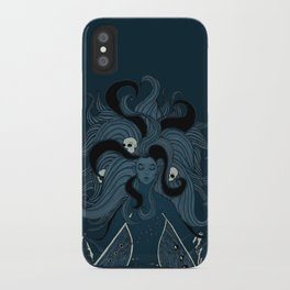 She's a Cruel & Fickle Mistress iPhone Case