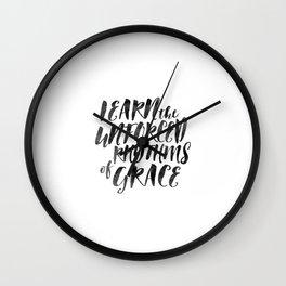 Rhythms of Grace Wall Clock