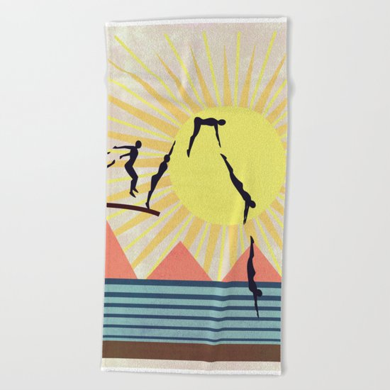 SUMMER POOL Beach Towel