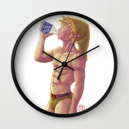 Lonlon Milk makes your body good Wall Clock