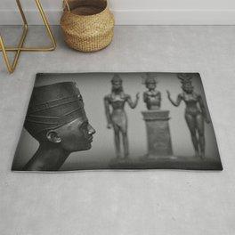 Nefertiti & The Original Kemetic Trinity Rug