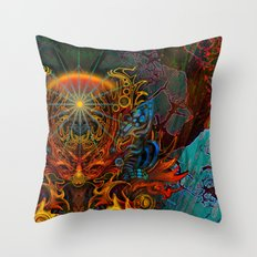 Fire_Fairy Throw Pillow