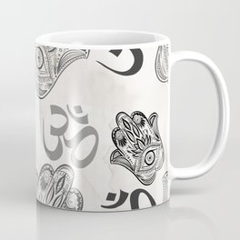 Hamsa Yoga Pattern Coffee Mug