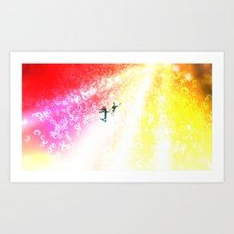 Sun Light Art Print