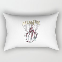 ArcadeFire tshirt Rectangular Pillow
