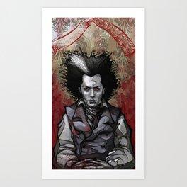 Sweeney Art Print