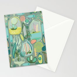 Cacti Terrariums Stationery Cards