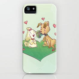 Spavinho in Love iPhone Case