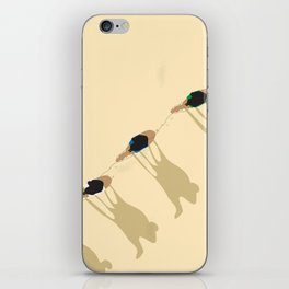 Camel caravan iPhone Skin