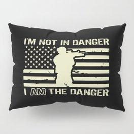 I'm Not In Danger, I AM the Danger Pillow Sham