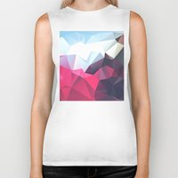 wwe Biker Tanks featuring Polygonal by eARTh